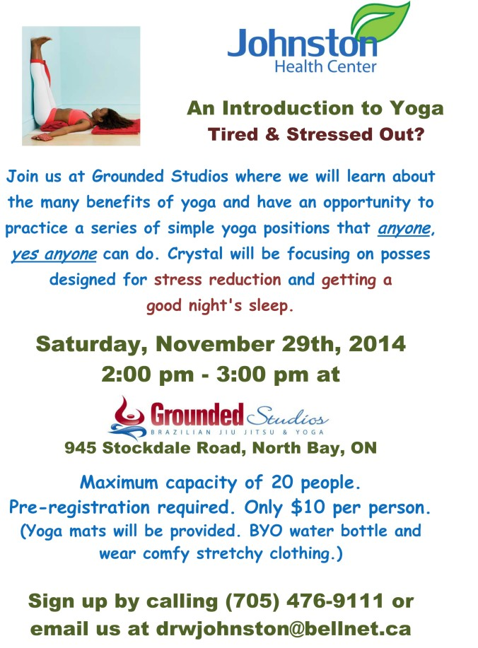 Yoga Intro at Grounded Studios